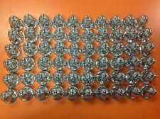 lot of 60 chrome 33mm lug nut covers 2-1/4 tall