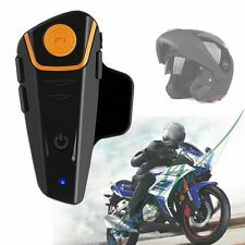 BT-S2 Bluetooth Waterproof 1000m Motorcycle Motorbike Helmet Intercom Headset