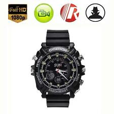 New Mini DVR Waterproof HD 1080P Spy Watch Camera Night Vision Camcorder 32GB