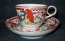 WORCESTER FLIGHT & BARR PERIOD (1793-1803) IMARI CUP & SAUCER - Incised B Mark