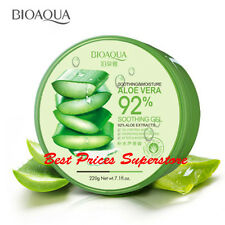 BIOAQUA 92% Moisturizing Natural Aloe Vera Soothing Soft Refresh Skin Gel 220g