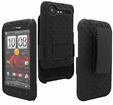 Verizon Shell/Holster w/ Kickstand case 4 HTC Droid Incredible 2 Smartphone New