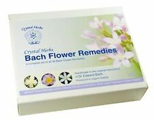 Bach Flower Remedy Set - Complete Set of 38 Remedies in Organic Brandy - 10ml