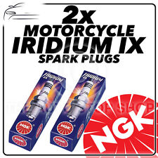 2x NGK Iridium IX Spark Plugs for KAWASAKI 900cc VN900 C7F (Custom) 07-> #7385
