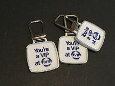 3 Industrial Valley Bank and Trust Company advertising white plastic key fobs