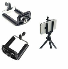Universal Mobile Cell Phone Clip Bracket Holder Mount For Tripod / Monopod Stand