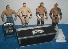 ANNOUNCE TABLE WWE MATTEL figureS WRESTLEMANIA 28 XXVIII Rock HHH Cena Lot