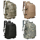 40L 3D Outdoor Tactical Military Backpack Rucksack Trekking Hiking Camping Bag E