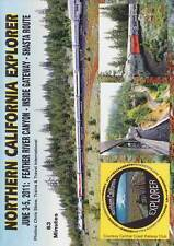 Northern California Explorer Feather River Inside Gateway Shasta Route DVD
