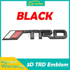 Metal 3D TRD Logo Emblem Sticker Decal Badge Trunk For Toyota Models NEW