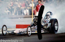 "Jerry ""the KING"" Ruth mid 60s ""SlingShot"" Top Fuel Dragster PHOTO!"