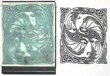 Celtic Dragon Swirl rubber stamp by Amazing Arts cool!