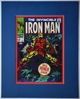 IRON MAN #1 Pin up Poster Matted Frame Ready Marvel