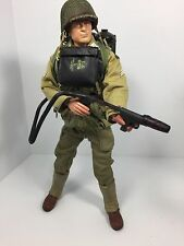 1/6 US 1ST INF DIV FLAMETHROWER GUNNER D DAY NORMANDY COLT 1911 WW2 DID BBI 21st