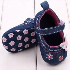 Fashion Baby Shoes Butterfly Soft Sole Toddler Shoes BU/13CM HOT