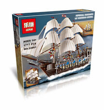 Pirates The Imperial Flagship Huge Ship Model Building Kit Minifigure Blocks Toy
