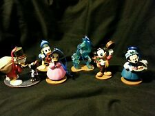 Disney Mickey's Christmas Carol Ornament set of 6 Scrooge Mickey Minnie-Marley