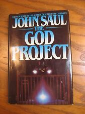 John Saul - The God Project - Book Club Edition - HC 1982