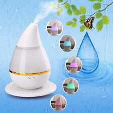 7color LED USB Essential Oil Ultrasonic Air Humidifier Aroma Therapy Diffuser YR
