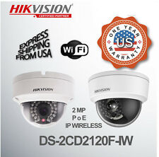 Hikvision Wireless Network Dome Color Camera 2MP HD DS-2CD2120F-IW  Wifi Outdoor