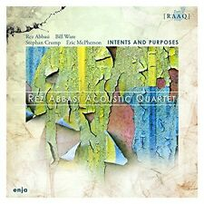 REZ ACOUSTIC QUARTET ABBASI - INTENTS AND PURPOSES  CD NEU