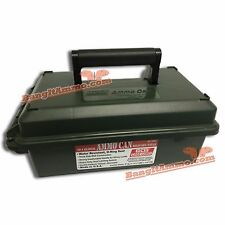 MTM 30 Caliber Molded Double Padlock Tabbed Ammo Can (SHORT)