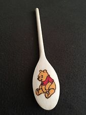 Winnie The Pooh pyrograved hand  crafted wooden spoon