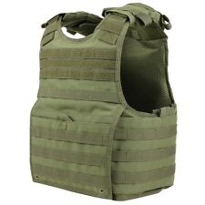 Condor XPC OD GREEN EXO MOLLE Infantry Armor Plate Carrier Tactical Vest S/M