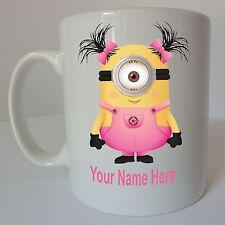 DESPICABLE ME Personalised Minion Mug Birthday Christmas Gift Present Design C