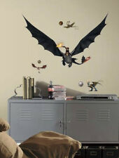 HOW TO TRAIN YOUR DRAGON 2 HICCUP & TOOTHLESS wall stickers MURAL 16 decal decor