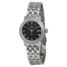Tissot Bridgeport Lady Black Dial Stainless Steel Ladies Watch T0970071105300