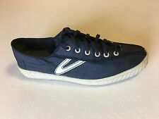 Tretorn® for J.Crew waxed Nylite sneakers Navy Retail $65 size 9 - Pre-owned