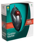 NEW Logitech Trackman Marble Mouse for Computer Tablet PC Trackball 910-000806