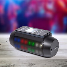 LED Touch Smartphone Induction Speaker Light Up Fun Colourful Sound Party Disco