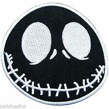 Jack Skellington Nightmare Before Christmas Movies Cartoon Sew Iron on Patch 809