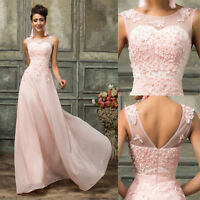 Mother Of Bride Formal Party Evening Wedding Guest Maxi Gown Dress Plus 26 24 20