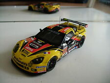 Ixo Chevrolet Corvette C6 #50 Lamy Le Mans 2012 in Yellow on 1:43