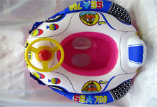Baby Swimming Seat Ring Inflatable Aid Trainer Various Cartoon Designs HI
