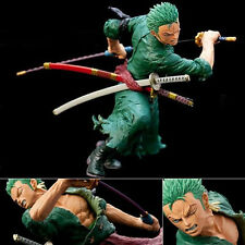 New One Piece Roronoa Zoro Figure Figurine Battle ver. 18cm No Box