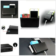Universal Car Portable Cell Phone Sundries Cards Organizer Storage Charging Box