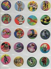 40 POWER RANGERS Colección completa 1995 Tazos Pogs Caps Complete set Ranger