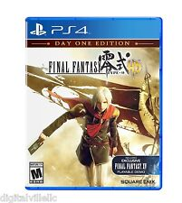 Final Fantasy Type-0 HD PS4 Sony PlayStation 4 Brand New Sealed