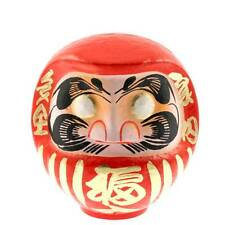 "Japanese Handmade 8""H Red Daruma Doll for Wishing Good Luck Fortune/Made Japan"