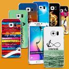 Handy Hülle für Samsung Galaxy Cover Case Schutz Tasche Motiv Slim Silikon TPU