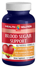 Blood Sugar Support - Health Heart Supplement - 1 Bottle