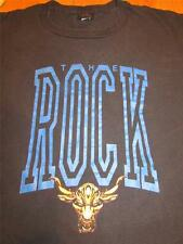Mens WWF 1999 THE ROCK Brok N 4 U Black Short Sleeve T Shirt Shirts XL
