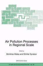 Air Pollution Processes in Regional Scale (Nato Science Series: IV: (closed))