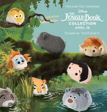 Disney Store Tsum Tsum Jungle Book Collection Set Of 8