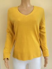 George Gold Yellow Soft Knit Jumper Size 22  K60