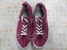 VINTAGE CONVERSE ONE STAR OX SIZE EU 38 UK 5 MAROON GOOD SKU AB806